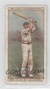 1928 Wills Cricketers - [Base] #15 - Mr. A.E.R. Gilligan [Good to VG‑EX]