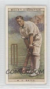 1928 Wills Cricketers - [Base] #2 - William Edric Bates [Good to VG‑EX]