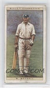 1928 Wills Cricketers - [Base] #48 - W.W. Whysall [GoodtoVG‑EX]