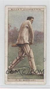1928 Wills Cricketers - [Base] #49 - Frank Woolley [Good to VG‑EX]
