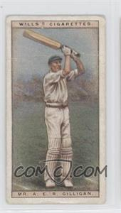 1928 Wills Cricketers #15 - Mr. A.E.R. Gilligan [Good to VG‑EX]