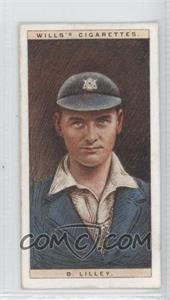 1928 Wills Cricketers #29 - B. Lilley