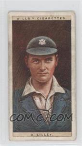 1928 Wills Cricketers #29 - B. Lilley [GoodtoVG‑EX]