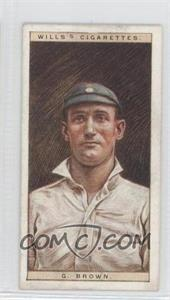 1928 Wills Cricketers #3 - [Missing]