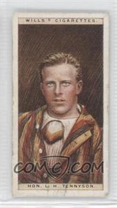 1928 Wills Cricketers #44 - Hon. L.H. Tennyson [Good to VG‑EX]