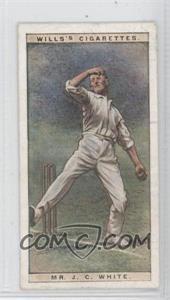 1928 Wills Cricketers #47 - Mr. J.C. White