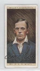1928 Wills Cricketers #50 - [Missing] [Good to VG‑EX]