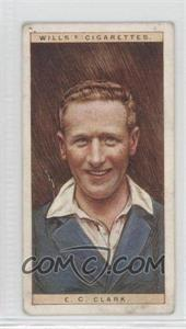 1928 Wills Cricketers #6 - E.C. Clark [Good to VG‑EX]