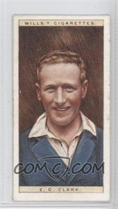 1928 Wills Cricketers #6 - E.C. Clark