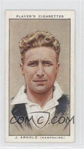 1934 Player's Cricketers Tobacco [Base] #2 - John Arnold
