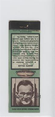 1936 Diamond Matchbooks #JOZE.2 - Joe Zeller