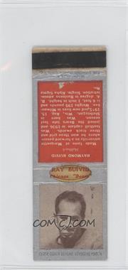 1938 Diamond Matchbooks #RABU - Ray Buivid