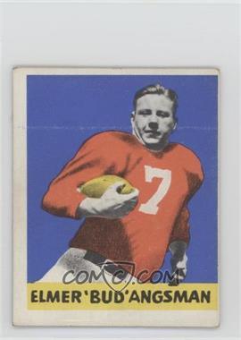 1948 Leaf - [Base] #25 - Elmer Angsman [GoodtoVG‑EX]