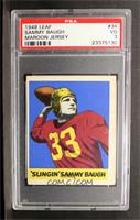 Sammy Baugh [PSA 3]