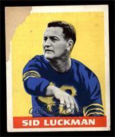 Sid Luckman [POOR]