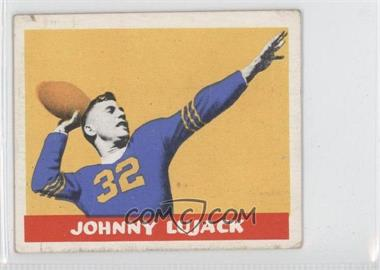 1948 Leaf #13 - Johnny Lujack [Good to VG‑EX]