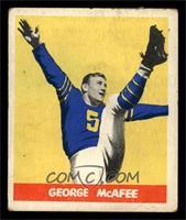 George McAfee [VG]