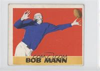 Bob Mann [Good to VG‑EX]