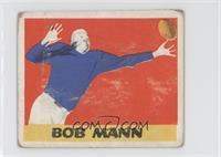 Bob Mann [Poor to Fair]