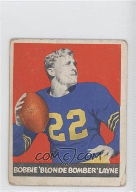 1948 Leaf #6 - Bobby Layne [GoodtoVG‑EX]