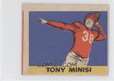 1949 Leaf - [Base] #74 - Tony Minisi
