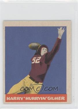 1949 Leaf #62 - Harry Gilmer
