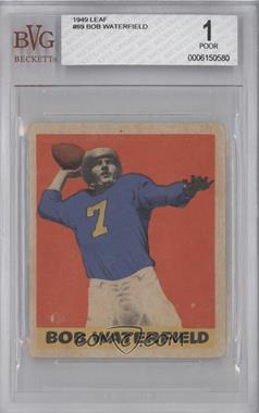 1949 Leaf #89 - Bob Waterfield [BVG 1]