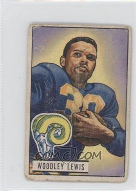 1951 Bowman - [Base] #5 - Woodley Lewis [Poor to Fair]