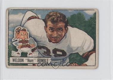 1951 Bowman #1 - Weldon Humble