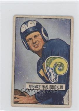1951 Bowman #4 - Norm Van Brocklin
