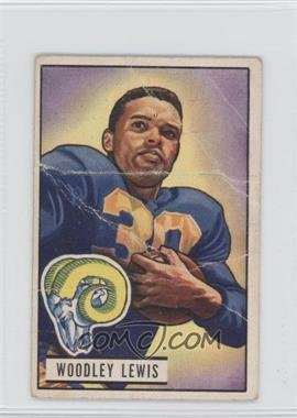 1951 Bowman #5 - Woodley Lewis [Poor to Fair]