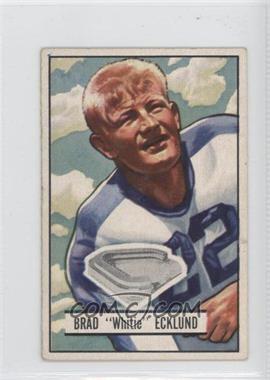1951 Bowman #81 - Brad Ecklund