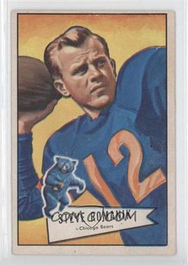 1952 Bowman - [Base] - Large #126 - Steve Romanik