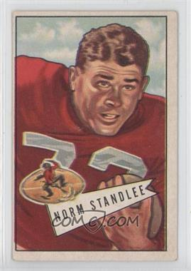 1952 Bowman - [Base] - Large #42 - Norm Standlee