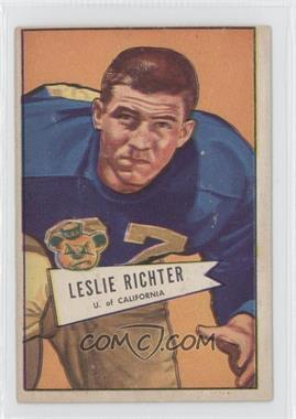 1952 Bowman - [Base] - Large #61 - Les Richter