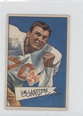 1952 Bowman - [Base] - Small #144 - Jim Lansford [GoodtoVG‑EX]