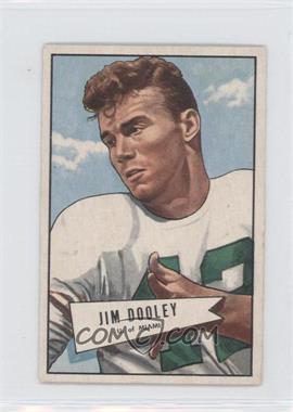 1952 Bowman - [Base] - Small #31 - Jim Dooley