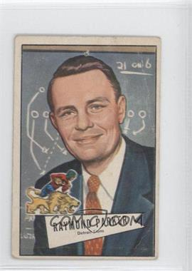 1952 Bowman - [Base] - Small #84 - Raymond Parker