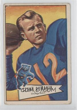 1952 Bowman Large #126 - Steve Romanik [Good to VG‑EX]