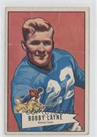 Bobby Layne [Poor to Fair]