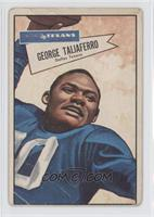 George Taliaferro [Poor to Fair]