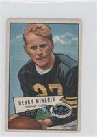 Harry Minarik [Good to VG‑EX]