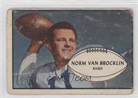 Norm Van Brocklin [GoodtoVG‑EX]