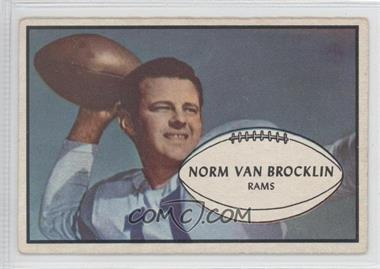 1953 Bowman #11 - Norm Van Brocklin