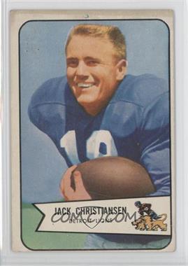 1954 Bowman - [Base] #100 - Jack Christiansen [GoodtoVG‑EX]
