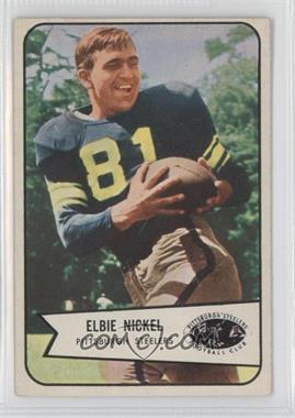 1954 Bowman - [Base] #108 - Elbie Nickel