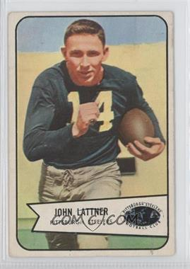1954 Bowman - [Base] #128 - John Lattner [Good to VG‑EX]