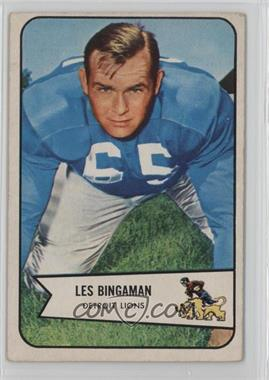 1954 Bowman - [Base] #29 - Les Bingaman [Good to VG‑EX]