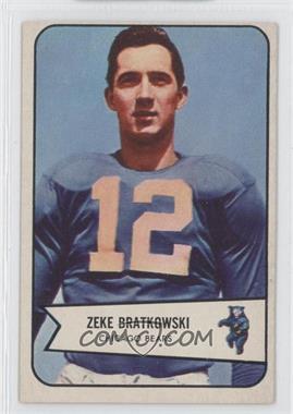 1954 Bowman #11 - Zeke Bratkowski