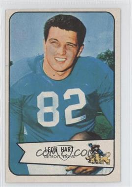 1954 Bowman #112 - Leon Hart